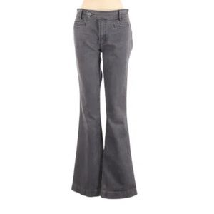 Daughters of the Liberation Gray Flare Jeans 4